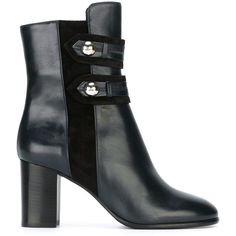 Isabel Marant Alvy Ankle Boots (€705) ❤ liked on Polyvore featuring shoes, boots, ankle booties, blue, high heel bootie, short boots, ankle boots, chunky booties and chunky ankle boots
