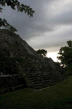 Yaxhá, Petén, Guatemala. Maya archaeology.
