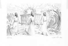 Joshua 3:14 Illustration - Ark of the Covenant | Saint Mary's Press