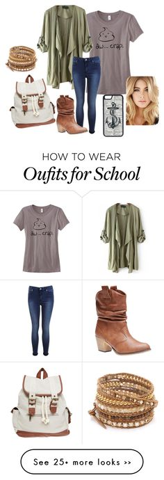 """""""back to school #12"""" by carajo99 on Polyvore featuring Wet Seal, Miss Selfridge, Chan Luu and CellPowerCases"""