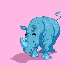 unique rhino