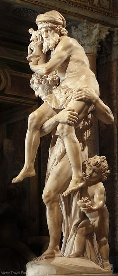 Aeneas, Anchises, and Ascanius by Gian Lorenzo Bernini. The Museo Borghese…