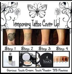 Awesome! Younique Makeup....if you had to cover up your tattoos this is the stuff to use. www.divalashesbyannette.com