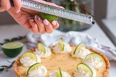 Key Lime Pie – Helppo Limepiiras (G) (Annin Uunissa) Key Lime Pie, Avocado Egg, A Food, Zucchini, Florida, Vegetables, Breakfast, Morning Coffee, The Florida