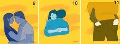 O jeito que um casal se abraça, pode revelar os segredos desta relação.