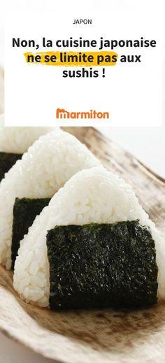 Savez-vous vraiment ce que mangent les japonais au quotidien ? Découvrez-le tout de suite en dévorant notre sélection de recettes japonaises #marmiton #recette #cuisine #japon #sushi #yakitori #japonais #onigiri #matcha #gyosa