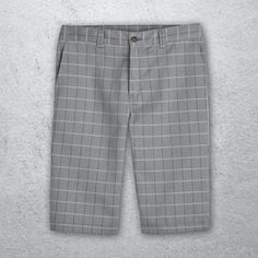 "Your search for the perfect plaid shorts is over. Dickies' Flex Shadow Plaid Shorts have a 13"" inseam with a regular fit. The polyester/cotton fabric make them extra durable, while the wrinkle resistant, Flex material provides supreme comfort and ease of movement. The addition of a multi-use cell phone pocket adds utility to these pants known for comfort, convenience and mobility. Plaid Shorts, Patterned Shorts, Mens Gear, Supreme, Bermuda Shorts, Cotton Fabric, Pocket, Search, Phone"