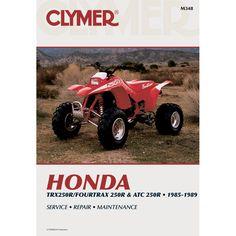 Clymer Honda TRX250R/Fourtrax 250R & ATC 250R (1985-1989)