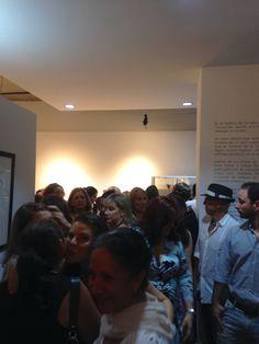 Inauguración Exposición 25+1 Joyeria Contemporanea en Galeria Arte Consult. Los alumnos del Orfebre Rafael Bello presentan su nueva Colección.