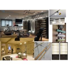Gym 2 ZR by naala-art on Polyvore featuring polyvore, interior, interiors, interior design, home, home decor and interior decorating