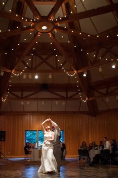 This isn't our venue. Our ceilings are lower, but I'd love to have this lighting in the ceilings.