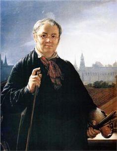 Self-Portrait - Vasily Tropinin
