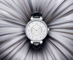 An eternally elegant touch for every day: presenting the new Louis Vuitton Tambour Monogram Collection.