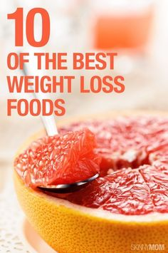 10 foods that will help you lose weight! #weightloss #resolutions