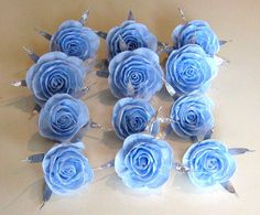 Crepe paper roses CENTERPIECE  Baby Shower  bridal  by flower4you