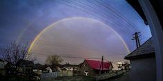 double rainbow! :D