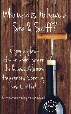 Scheduling #Sip&Sniffs for February and March! https://kiahcoleman.scentsy.us
