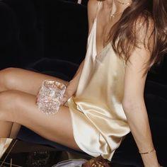 Slip dresses #slipdress, #topshop, #dress, #satin, #metallic