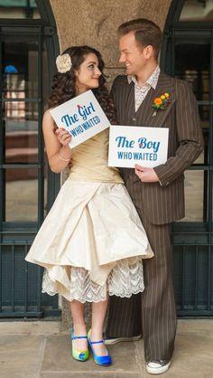 OK....be still my nerdy nerdy heart! Doctor Who wedding.