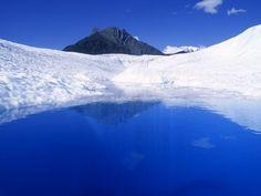 Alberca glaciar  Fotografía de Rich Reid