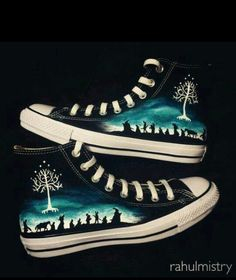 #ConverseShoes These are so beautiful,I want even though I don't know what this is from xD..- The wolf that kills