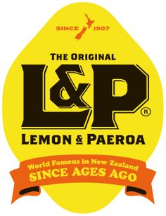 Lemon and Paeroa, New Zealand soft drink - kitchen print