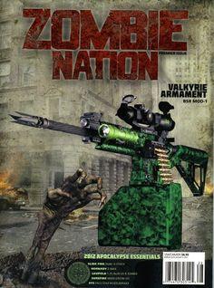 Zombie Watch: Zombie Nation Magazine