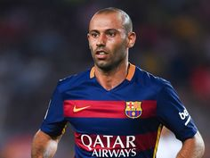 ClemPost Blog: Barcelona defender.Javier Mascherano Sentenced to ...
