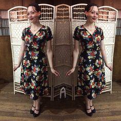 Eucalyptus Bouquet Tea Dress