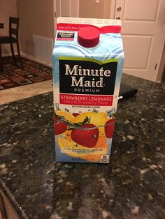 Name: Minute Maid Life Expectancy: 24 hours