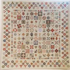 A beautiful quilt by Susan Smith. The pattern has 10 parts.The size is 96 x 96 x Quilting Templates, Quilting Projects, Quilting Designs, Quilt Patterns, Applique Patterns, Quilting Ideas, Antique Quilts, Vintage Quilts, Petra Prins