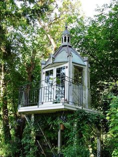 Elaborate treehouse