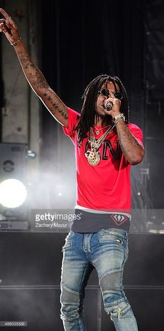 Quavo from Migos performs at Nikon at Jones Beach Theater on August 30, 2015 in Wantagh, New York.
