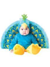 Baby Precious Peacock Costume Deluxe-Party City