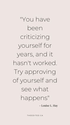 Self-love quotes Stop criticizing yourself so much – love yourself first Now Quotes, Self Love Quotes, Great Quotes, Quotes To Live By, Life Quotes, The Words, Cool Words, Positive Quotes, Motivational Quotes