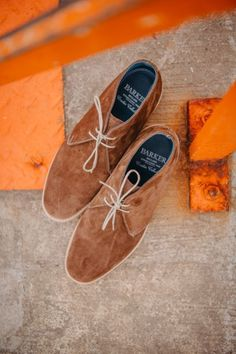 Barker sale still on! Great discounts on hundreds of pairs of shoes. Shop online.  Featured: Barker Connor, available in sand or castagnia suede. Save 30%! #barkersale #barkershoes #robinsonsshoes Harris Tweed, Blue Suede, Shoe Sale, Robin, Calves, Hand Painted, Pairs, Shop, Handmade