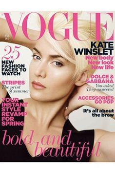 Fashion Magazine Covers - Online Archive for Women (Vogue.com UK) APRIL 2011