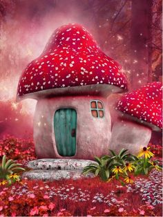 Illustration about Fairy mushroom house on a pink meadow. Illustration of forest, cottage, butterfly - 37611443 Pink Mushroom, Mushroom House, Mushroom Art, Studio Backdrops, Vinyl Backdrops, Fairy Tale Theme, Fairy Tales, Fond Studio Photo, Photography Backdrops