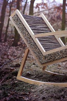 Closer look at the unique design of HALUZ Chair