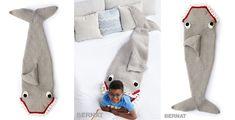 Learn How To Make This Fun Crochet Shark Sleep Snuggle Sack