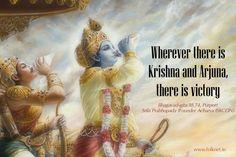 #Bhagavad #Gita Chapter 18, Verse 74. Krishna Leela, Krishna Radha, Durga, Hinduism Quotes, Sanskrit Quotes, Radha Krishna Love Quotes, Cute Krishna, Lord Krishna Wallpapers, Radha Krishna Wallpaper