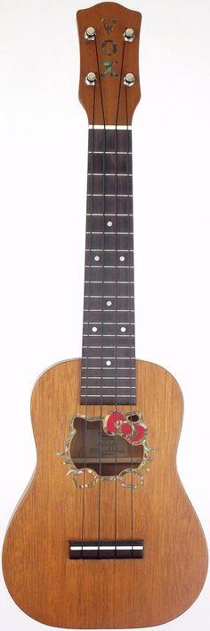 My New Vox uk33 Hello Kitty Soprano #LardysUkuleleOfTheDay ~ https://www.pinterest.com/lardyfatboy/lardys-ukulele-of-the-day/ ~ now this really is a lovely uke