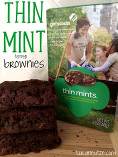 thin mint pie thin mint brownies girl scout thin mint oven strudels ...