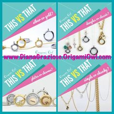 Which do uou like best? Order directly from http://tonisieg.origamiowl.com/