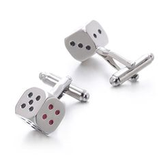 U2U Jewelry Stainless Steel Bullet Back Closure Cufflinks For Men Weddings,Birthday Gifts - Dice U2U http://www.amazon.com/dp/B010EQDM8Q/ref=cm_sw_r_pi_dp_G3yXvb12QYZGW