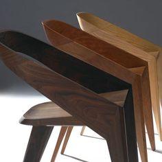 john form :: modern chair design A terrific twist on chair design. Design Furniture, Chair Design, Furniture Decor, Modern Furniture, Contemporary Chairs, Modern Chairs, Console Design, Cool Chairs, Modern Interior Design