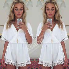 Sexy Summer Womens Celeb Playsuit Party Evening Ladies Dress Jumpsuit Shorts Hot