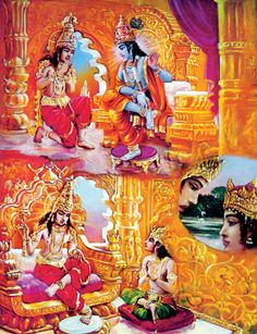 """""""The Blessed Lord said: I instructed this imperishable science of yoga to the sun-god, Vivasvan, and Vivasvan instructed it to Manu, the father of mankind, and Manu in turn instructed it to Iksvaku. Bg As It Is, 4.1, Transcendental Knowledge"""