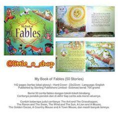 Saya menjual My Book of Fables seharga Rp120.000. Dapatkan produk ini hanya di Shopee! http://shopee.co.id/littleoshop/1511913 #ShopeeID