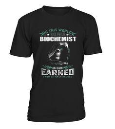 Best Biochemist I am Tattooed Biochemist front Shirt